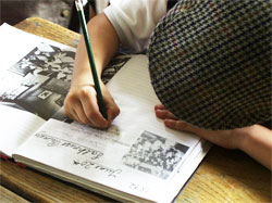 Great Cressingham Victorian School - Writing
