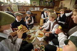 Great Cressingham Victorian School - Lunchtime