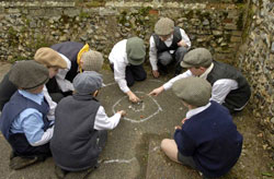 Great Cressingham Victorian School - Outside play